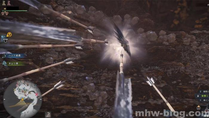 歴戦王マム用弓使い「駆け上がり射撃」②