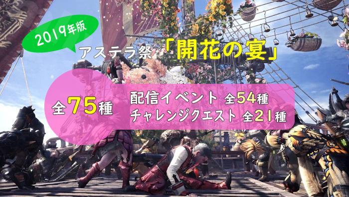 2019年版:アステラ祭【開花の宴】