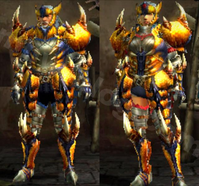 「轟竜:ティガレックス」生産装備「レックスシリーズ」