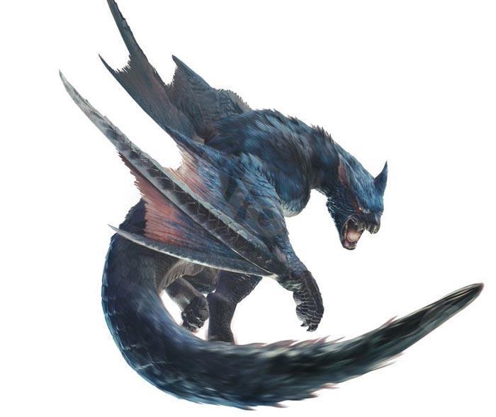迅竜:ナルガクルガ