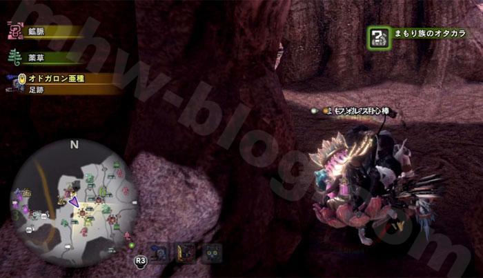 大蟻塚の荒地の「オタカラ蒐集02」