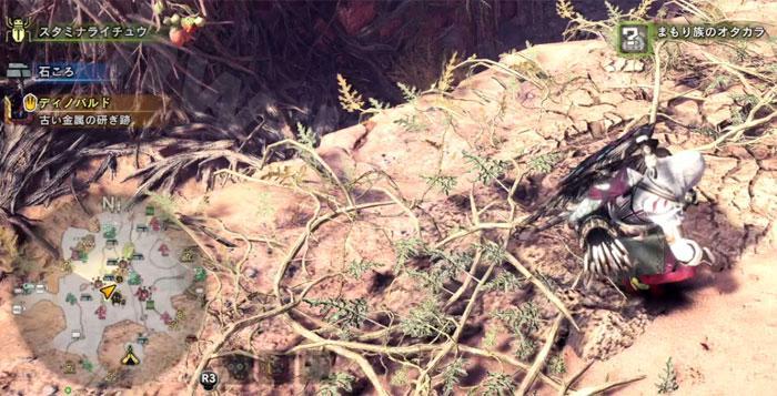 大蟻塚の荒地の「オタカラ蒐集03」