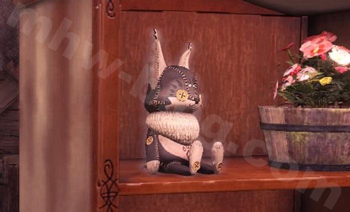 テトルー人形【黒】