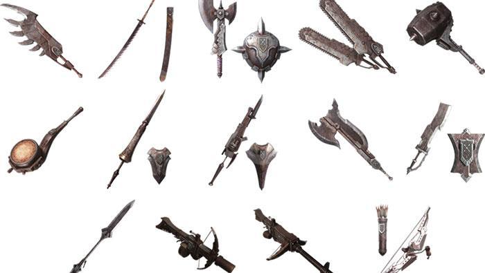 防衛隊派生武器