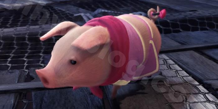 プーギー衣装「魅惑のピンク」