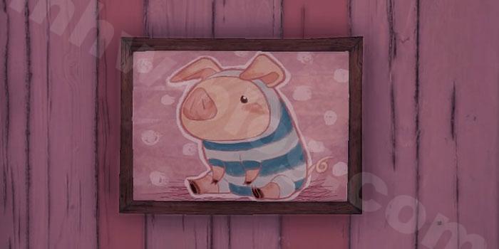 プーギー家具「絵画【プーギー】」