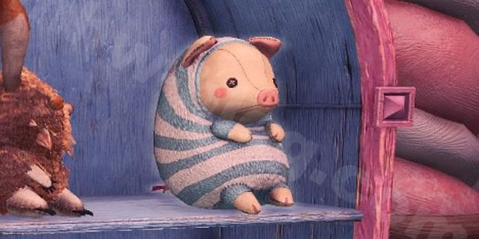 プーギー家具「プーギー人形【縞想】」