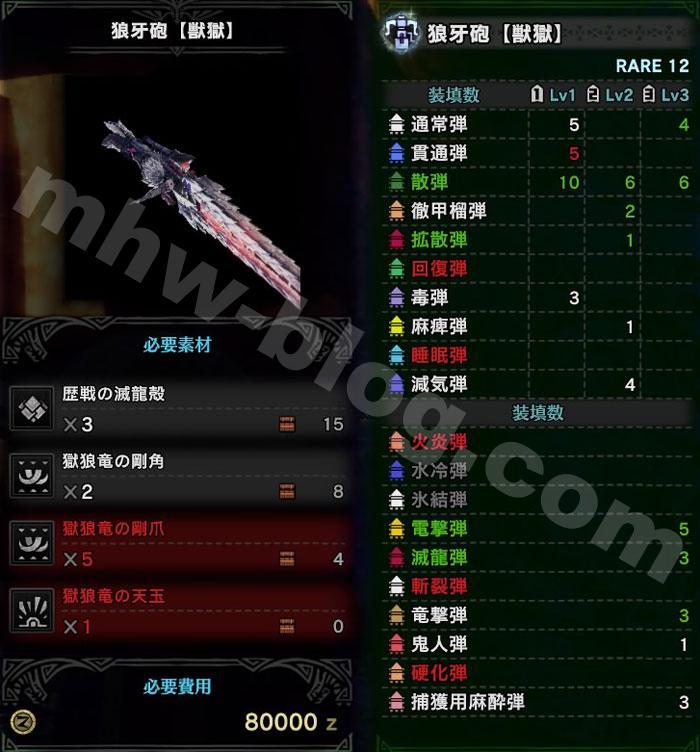 ヘヴィ「狼牙砲【獣獄】」2
