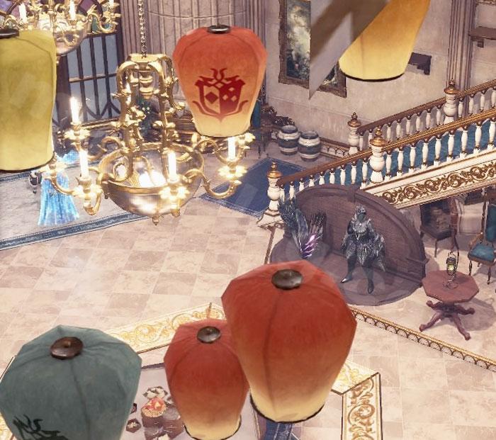 【大感謝の宴】追加家具①:吊り飾り③「天燈」①