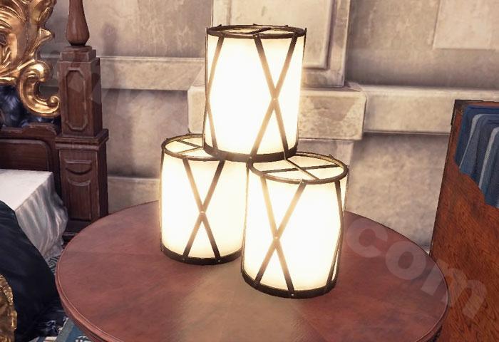 【大感謝の宴】追加家具①:ランプ「行燈①」①