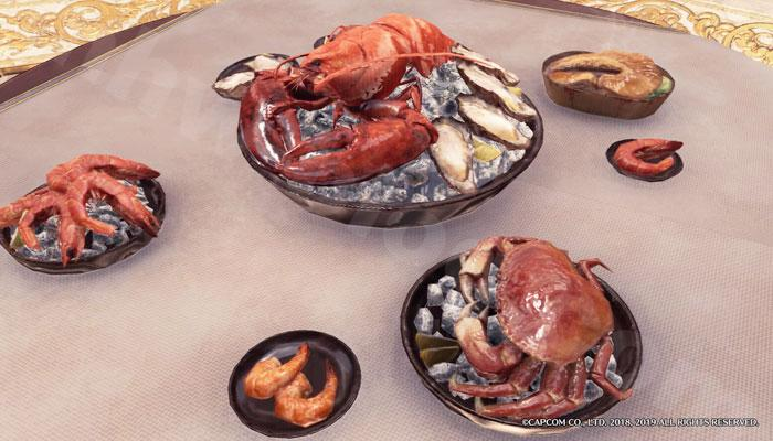 【大感謝の宴】追加家具①:卓上「高級料理プレート」①
