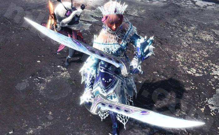双剣「氷聖ヘル」①