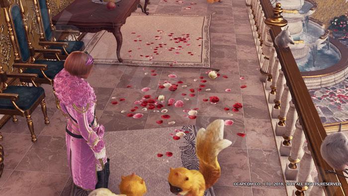アステラ・セリエナ祭【満開の宴】追加家具③「華やかな絨毯(2階)」2