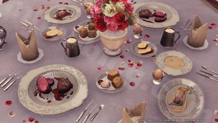 アステラ・セリエナ祭【満開の宴】追加家具①「満開料理セット」2