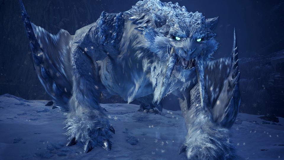 「氷刃佩くベリオロス」の特徴①