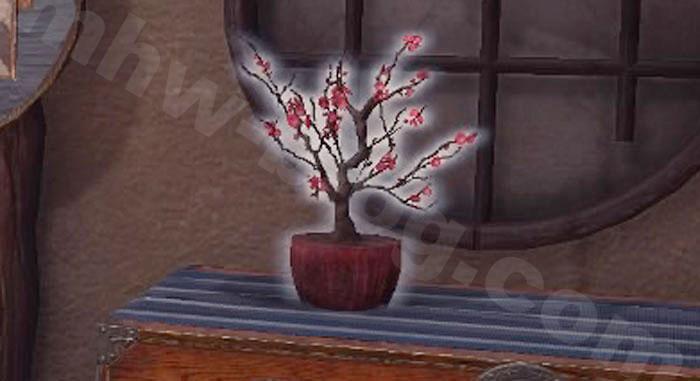 「梅花の植木鉢」①