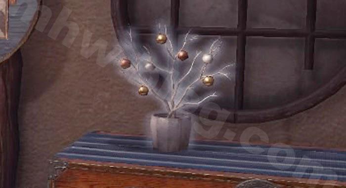 「飾り木の植木鉢」①