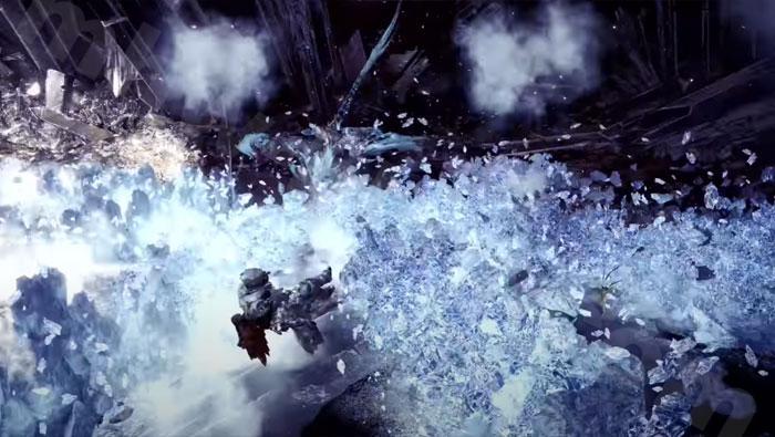 歴戦王イヴェルカーナ討伐「六花が静かに眠るなら」:追加モーション③