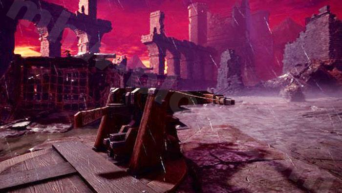 「シュレイド城」の兵器について:バリスタ