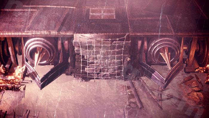 「シュレイド城」の兵器について:撃龍槍