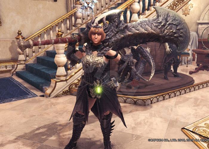 ミラボレアス武器:大剣「ブラックミラブレイド」見た目