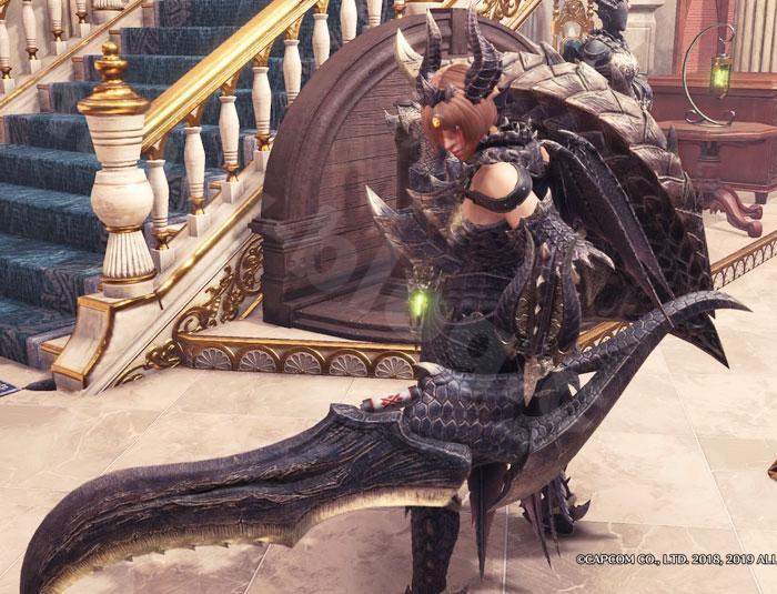 ミラボレアス武器:真・黒龍盾斧見た目