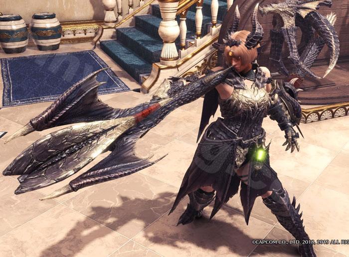 ミラボレアス武器:真・黒龍翼弩見た目