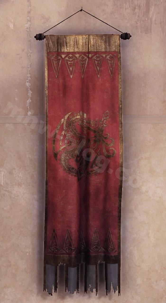 ミラボレアス関連家具一覧:シュレイドの旗飾り①