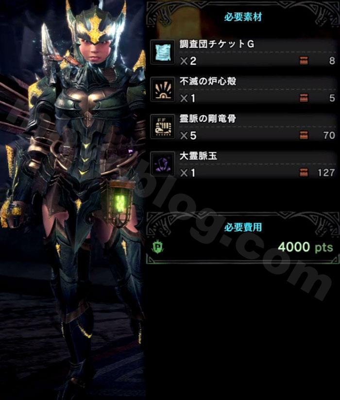 V15.01「マスターランク重ね着」:ブラキウムα