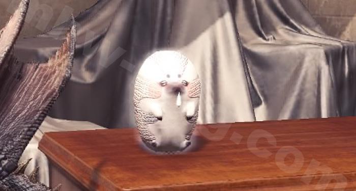 第5弾アプデ後の蒸気限界突破追加家具:モギー人形【白】①