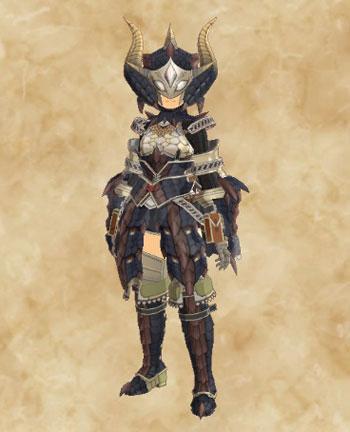 STORIES2:黒龍ミラボレアス武具:防具「ドラゴン装備改」