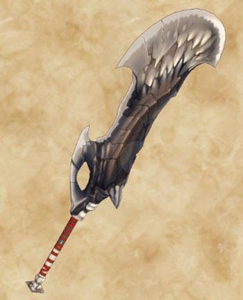 STORIES2:黒龍ミラボレアス武具:片手剣「黒龍剣」