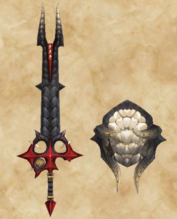 STORIES2:黒龍ミラボレアス武具:大剣「ミラブレイド」