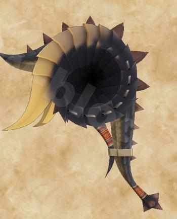 STORIES2:黒龍ミラボレアス武具:ハンマー「ミラバスター」