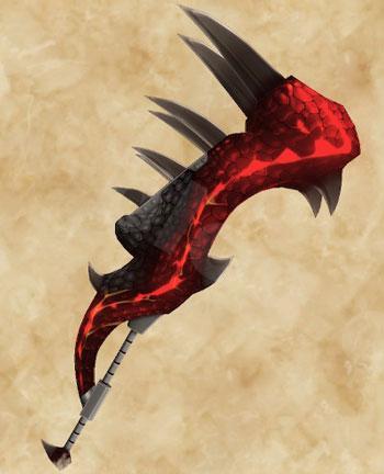 「ティガレックス希少種」生産武具一覧:大剣「絶衝大剣【神威】」