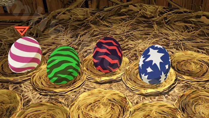 共闘探索クエスト「四天王の巣」:「四天王の巣」で入手できるタマゴ⑦