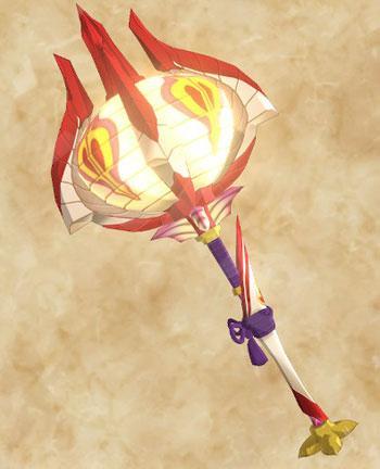 「天眼タマミツネ」生産武具一覧:ハンマー「たまかぎる磐鎚の星屑」