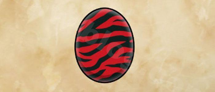 オトモン「黒炎王リオレウス」の性能:タマゴの模様