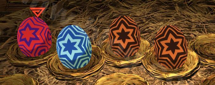 共闘探索クエスト「古龍種の巣」:「古龍種の巣」で入手できるタマゴ⑦